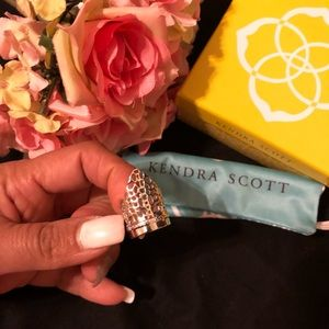 Kendra Scott Silver 'paige' Cocktail Ring